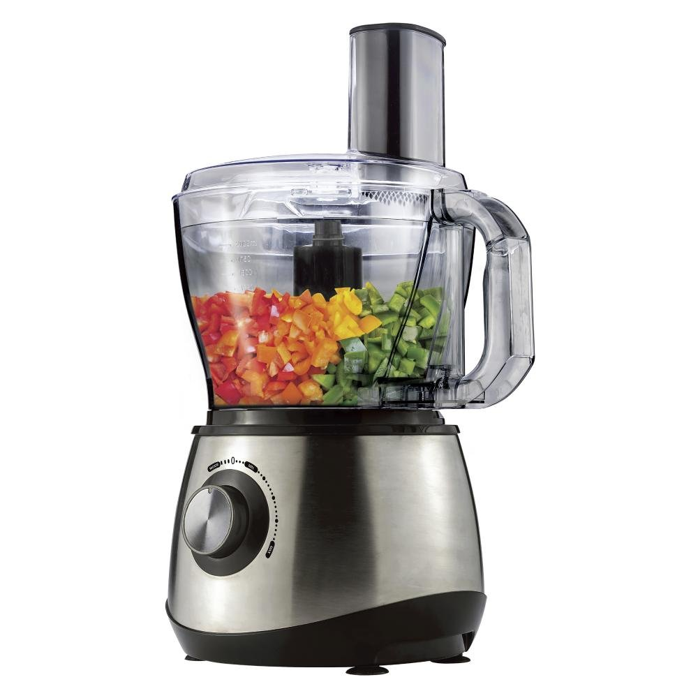 Brentwood Select FP-581 8-Cup Food Processor, Stainless Steel FP581B