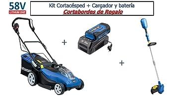 Hyundai - HY-LM3801-58V Set - Cortacésped Batería 58V (Cargador y batería