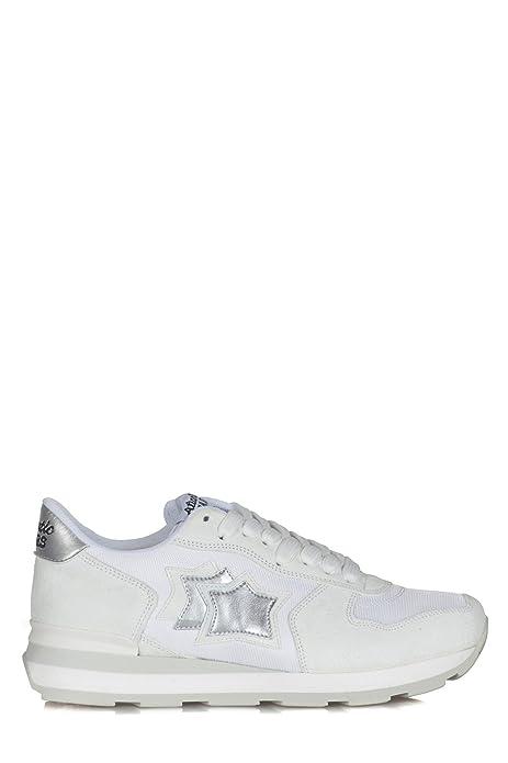 Atlantic Stars - Sneakers Donna Bianco Vega BA 86B  Amazon.it ... d9421ddd88c