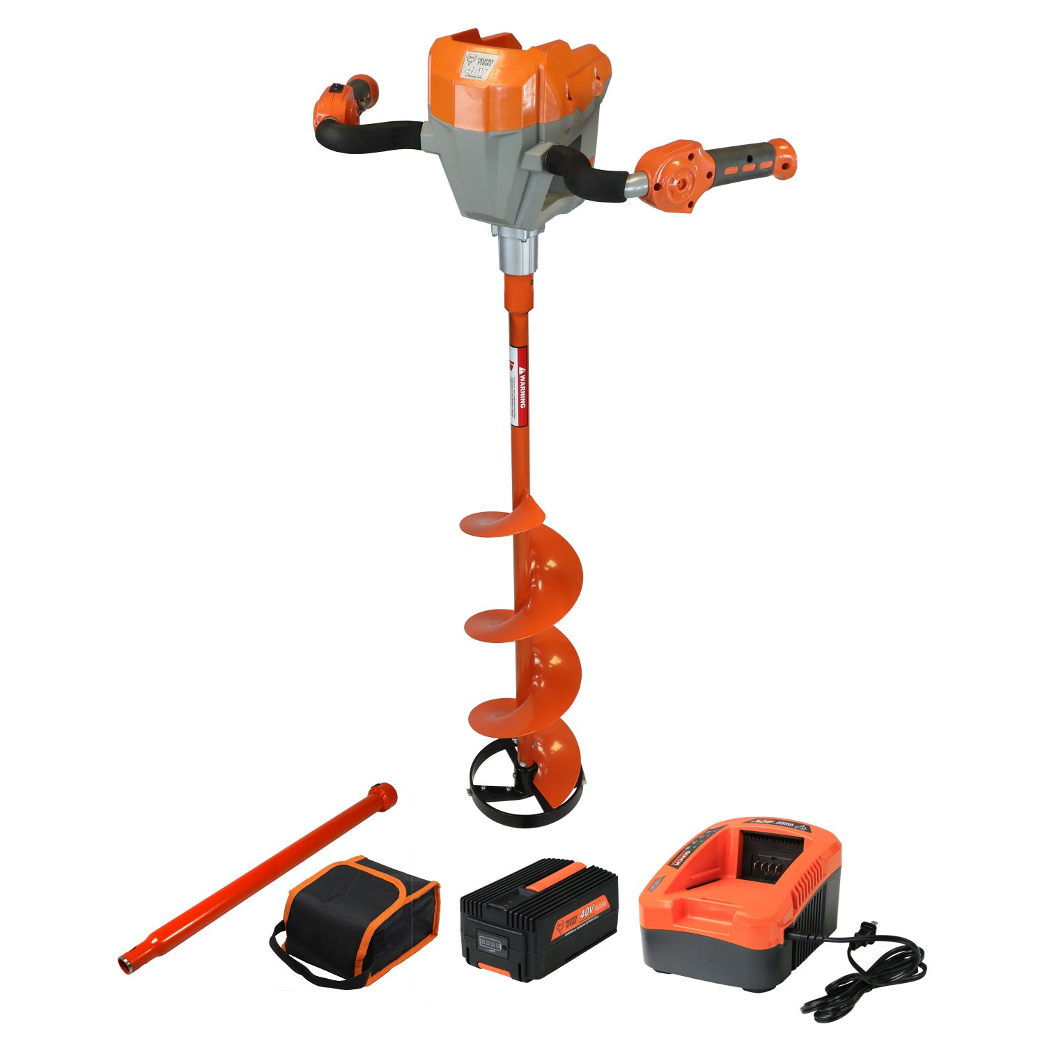 Trophy Strike 40V Lithium Ion Battery Ice Auger Kit by Trophy Strike