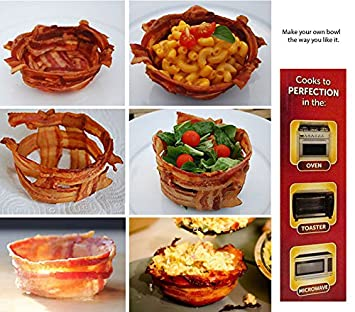 Amazon.com: Bacon Microondas Cocina/colador de Bacon/Sano ...