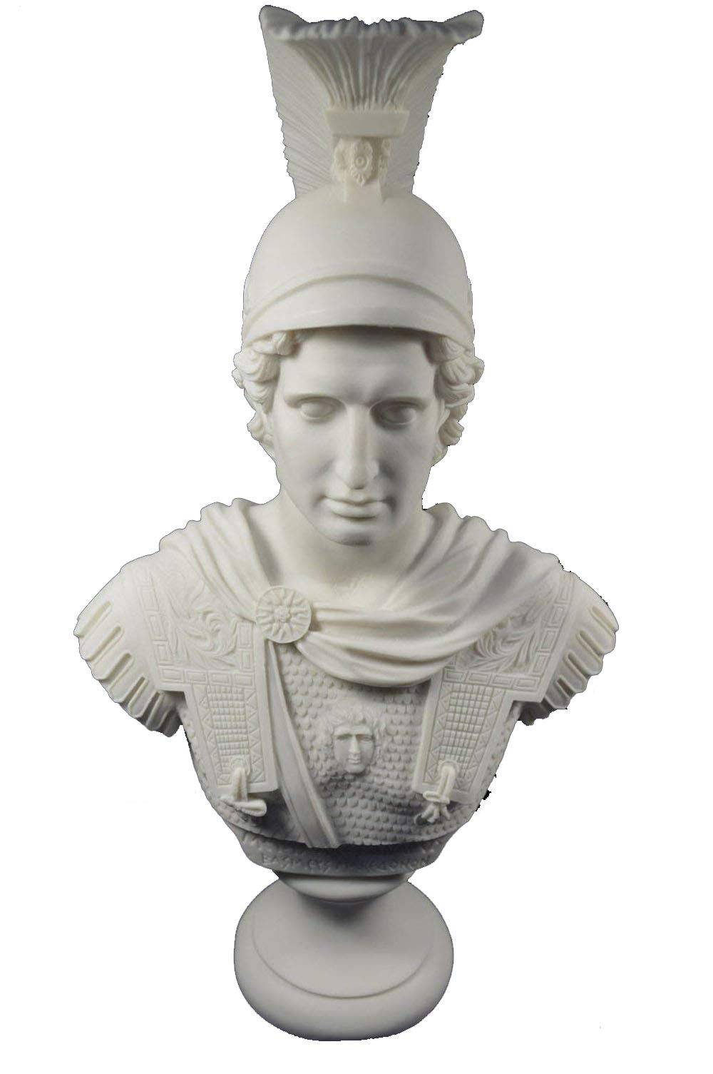 Estia Creations Alexander Sculpture The Great Macedonian King Great Large Bust by Estia Creations