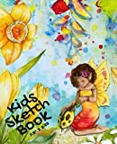 """Kids Sketch Book 7.25"""" x 9.25"""": Fairy Land Cover 