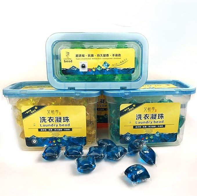 ETbotu 40 PC/caja Detergente en capsulas para lavadora Cuentas de ...