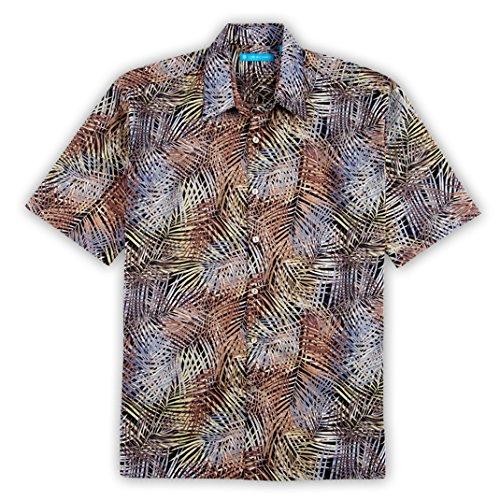 Tori Richard Big and Tall Thatch Art Hawaiian Camp Shirt ...