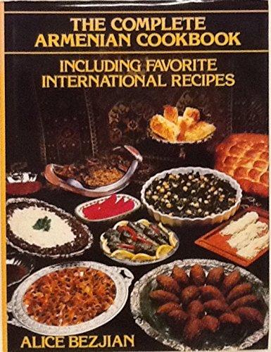 Complete armenian cookbook for Armenian cuisine book