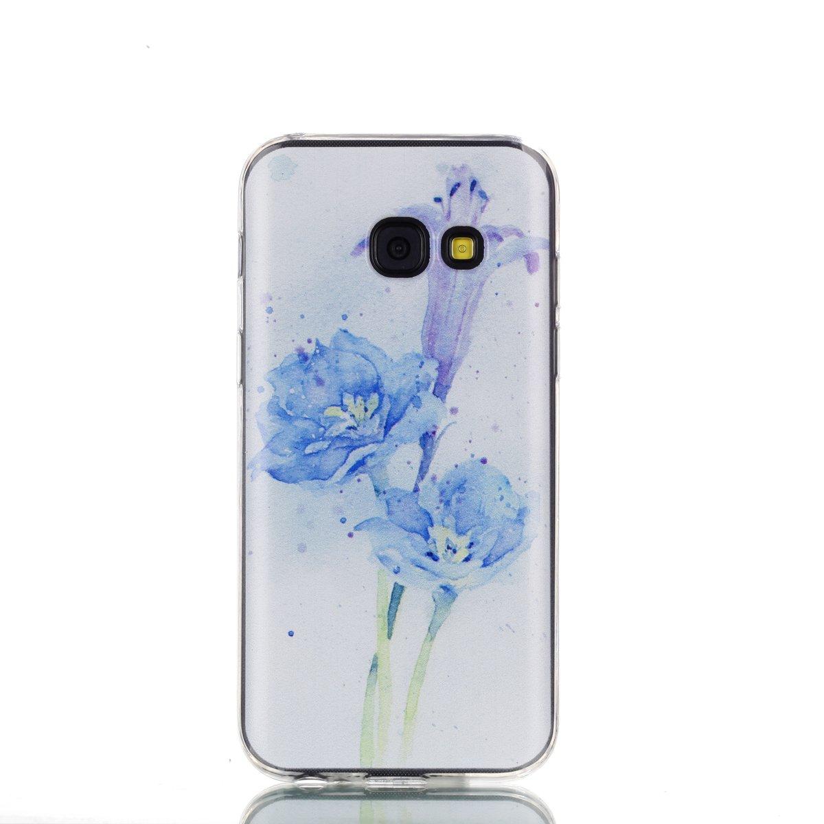 Coque Samsung Galaxy A3 2017, Anlike Té lé phone Coque É tui Case pour Samsung Galaxy A3 2017 - Chat blanc Anlike Téléphone Coque Étui Case pour Samsung Galaxy A3 2017 - Chat blanc AK-332249