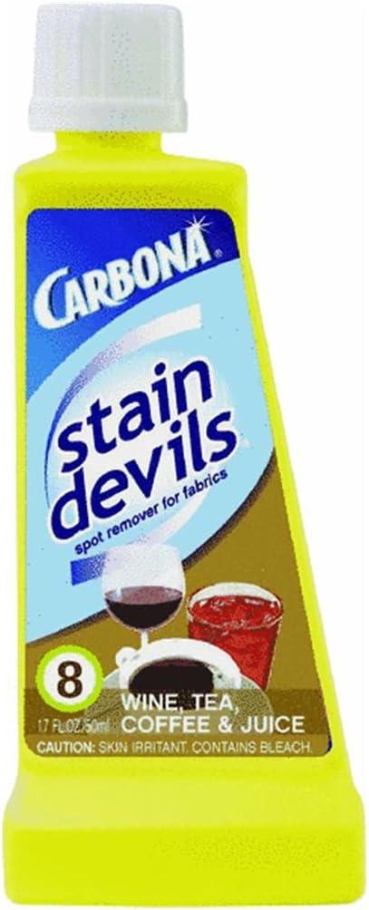 Carbona Stain Devils #8 Wine, Tea, Coffee & Juice - 1.7 oz - 2 pk