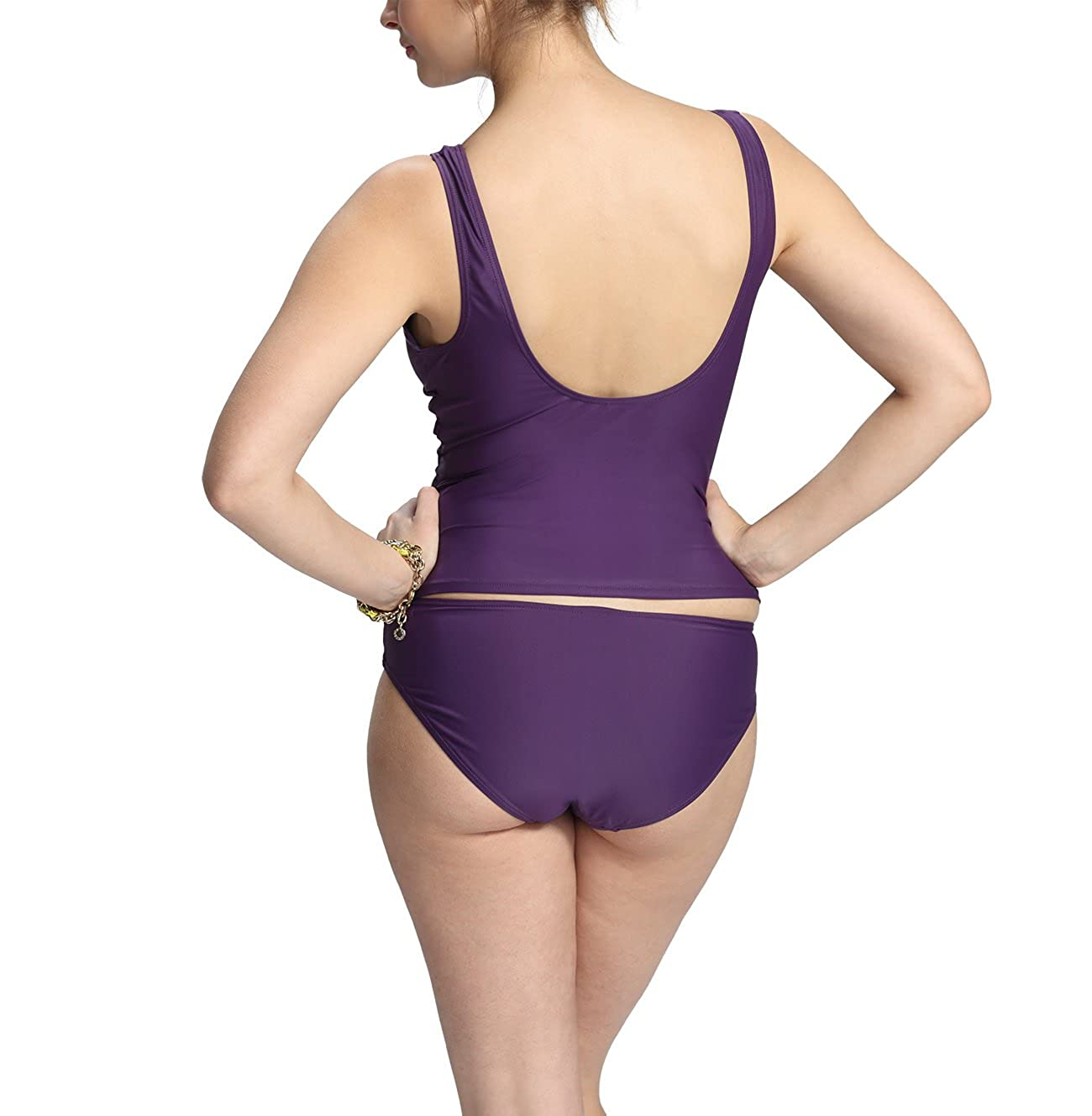 Petit Amour Umstands-Tankini Set Audrey /♥ Cup B//C//D lila Cassis