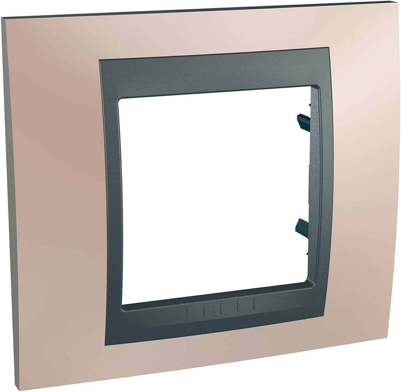 Placa unicatop 1 de grafito cobre hilo /ónix Schneider electric SC5MGU66002296F