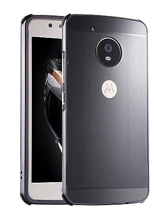 SPAK Motorola Moto G5S Plus Funda,Premium Marco de Aluminio ...