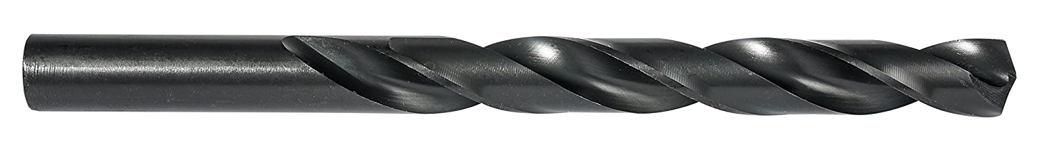 Split Point Black Coating Jobber Drill Pack of 12 135 Degree Cutting Angle Precision Twist 331HDM Heavy Duty 0.29 Cutting Diameter Right Cutting Direction 4.3//8 Length
