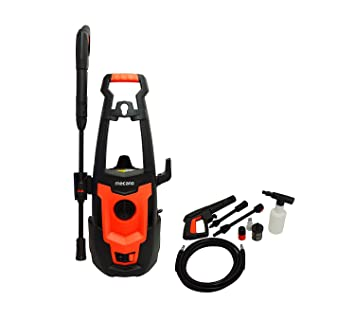 Mecano 1500 W Universal Motor Home and Car Pressure Washer (Black & Orange)