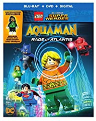 LEGO DC Super Heroes: Aquaman: Rage of Atlantis w/mini figurine (Blu-ray)After losing the throne of Atlantis, Aquaman must escape the threat of the Red Lanterns and learn what it means to be a hero, in order to save the Justice League and the...