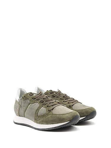 Philippe Model Sneakers Uomo Mvlubx09 Camoscio Verde: Amazon