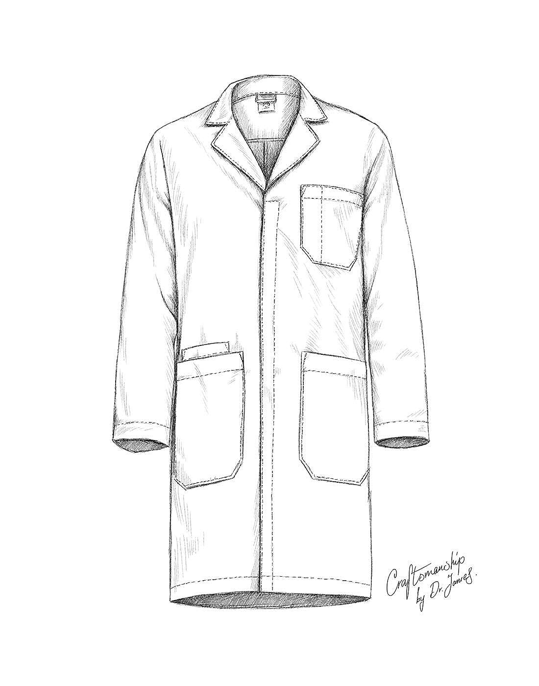 amazon dr james professionally designed unisex lab coat 40 Gloves Hat Coat amazon dr james professionally designed unisex lab coat 40 inch length white clothing