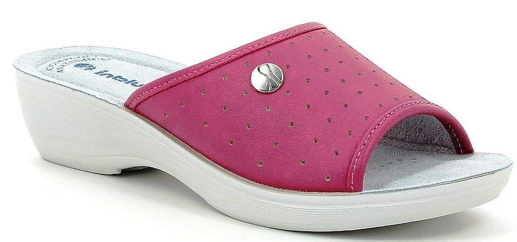 INBLU Pantofole Pantofole Pantofole SANITARIE Donna Mod. PL-45 Fuxia  - d3bfed