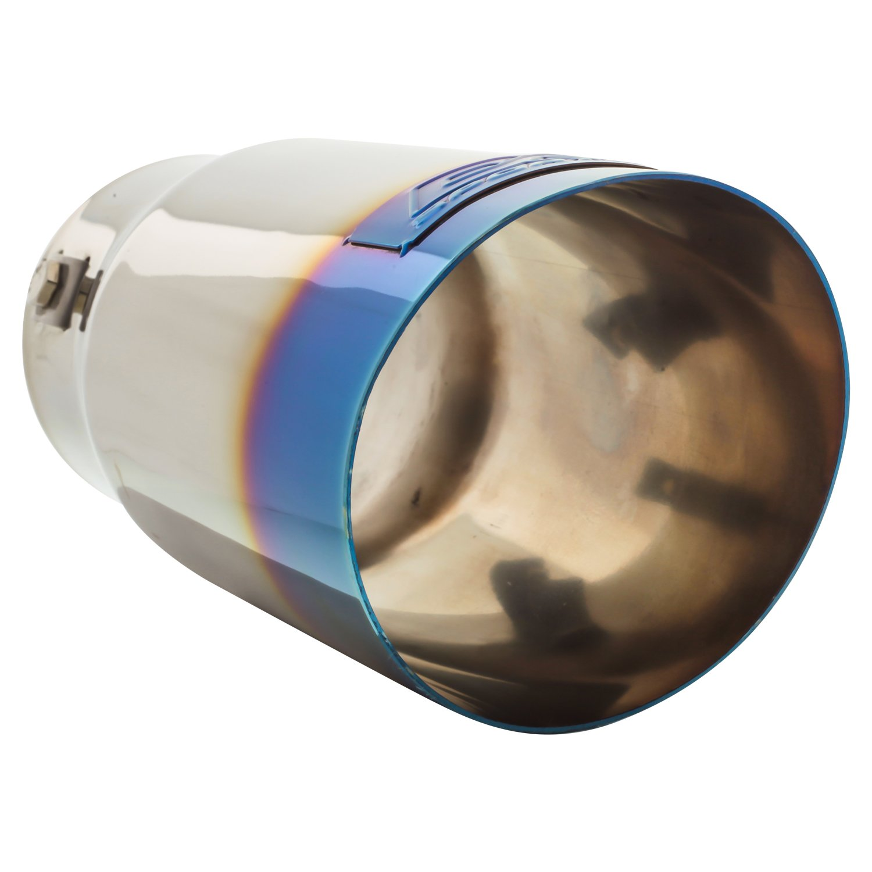 DC Sports EX-1025 Titanium Flare Round Exhaust Tip