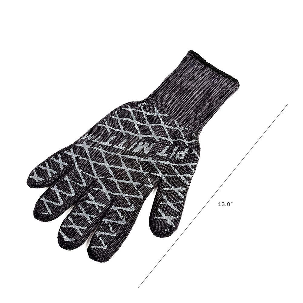 Charcoal Companion CC5165 Pit Mitt Pro BBQ Gloves