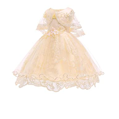 3101ff6e0 Amazon.com  Kehen Baby Girl Flower Lace Hemline Wedding Party Ball ...