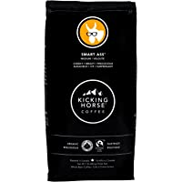 Kicking Horse Coffee, Smart Ass, Medium Roast, Whole Bean, 1 lb - Certified Organic, Fairtrade, Kosher Coffee