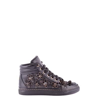 Dsquared2 Dsquared zapatos zapatillas de deporte altas mujer en piel negro EU 36 W13K301015: Amazon.es: Zapatos y complementos