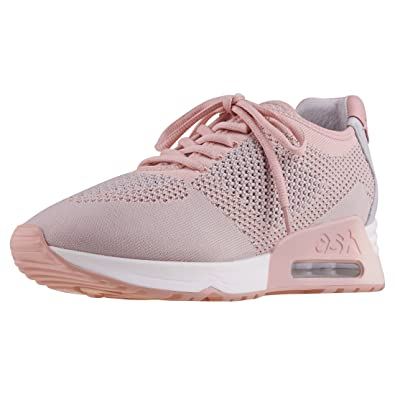 Ash 40 And Formateur Chaussures Knit Nude Pearl Femme Lucky Baskets r4zrqZwUH