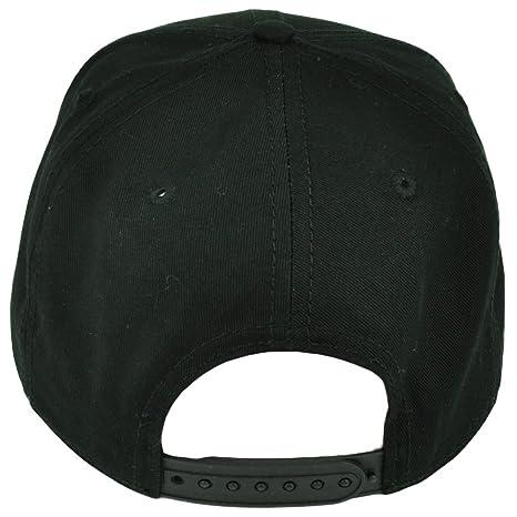 9a42da2237c Amazon.com   Jack Skellington Nightmare Before Christmas Movie Black Snapback  Hat Cap Disney   Sports   Outdoors
