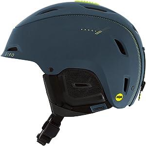 Giro Range MIPS Snow Helmet Matte Turbulence/Lime Small (59-62.5 cm)