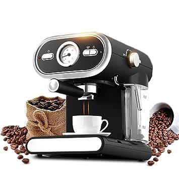 DSKJ Maquina De Cafe Máquina De Café Espresso, Cafetera Semiautomática, Fabricante De Leche,
