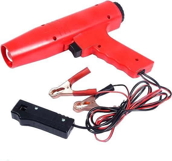 Costway Zündlichtpistole Blitzpistole Zündeinstelllampe Stroboskoplampe Zündung 12v Zündzeitpunkt 8000r Min Auto
