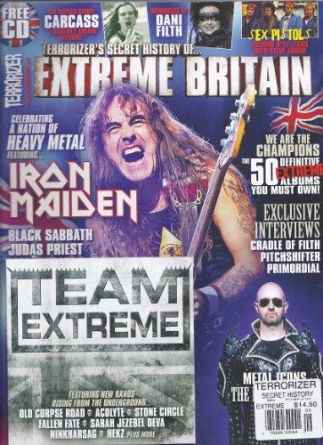 Terrorizer`s Secret History of Extreme Britain (September 2012,Terrorizer Magazine,Iron Maiden)