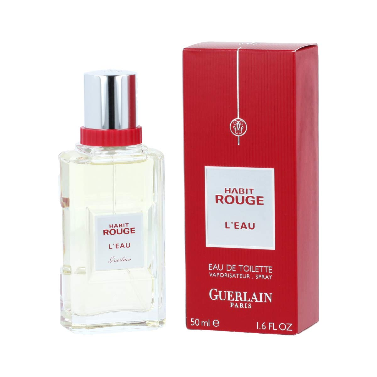 Guerlain Habit Rouge Eau De Toilette Spray For Women 1 6 Ounce Beauty