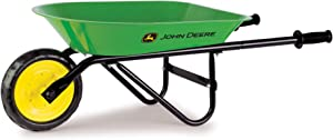 John Deere Steel Wheelbarrow | Sized Right for Kids