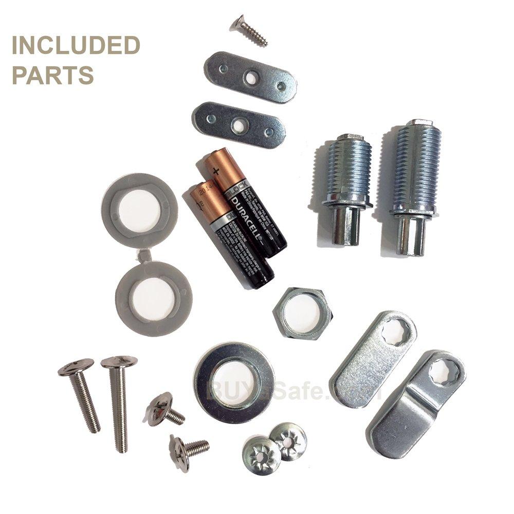 Kit Lock Electronic Cabinet Lock Coded Locker Solutions by Kit Lock (Image #4)