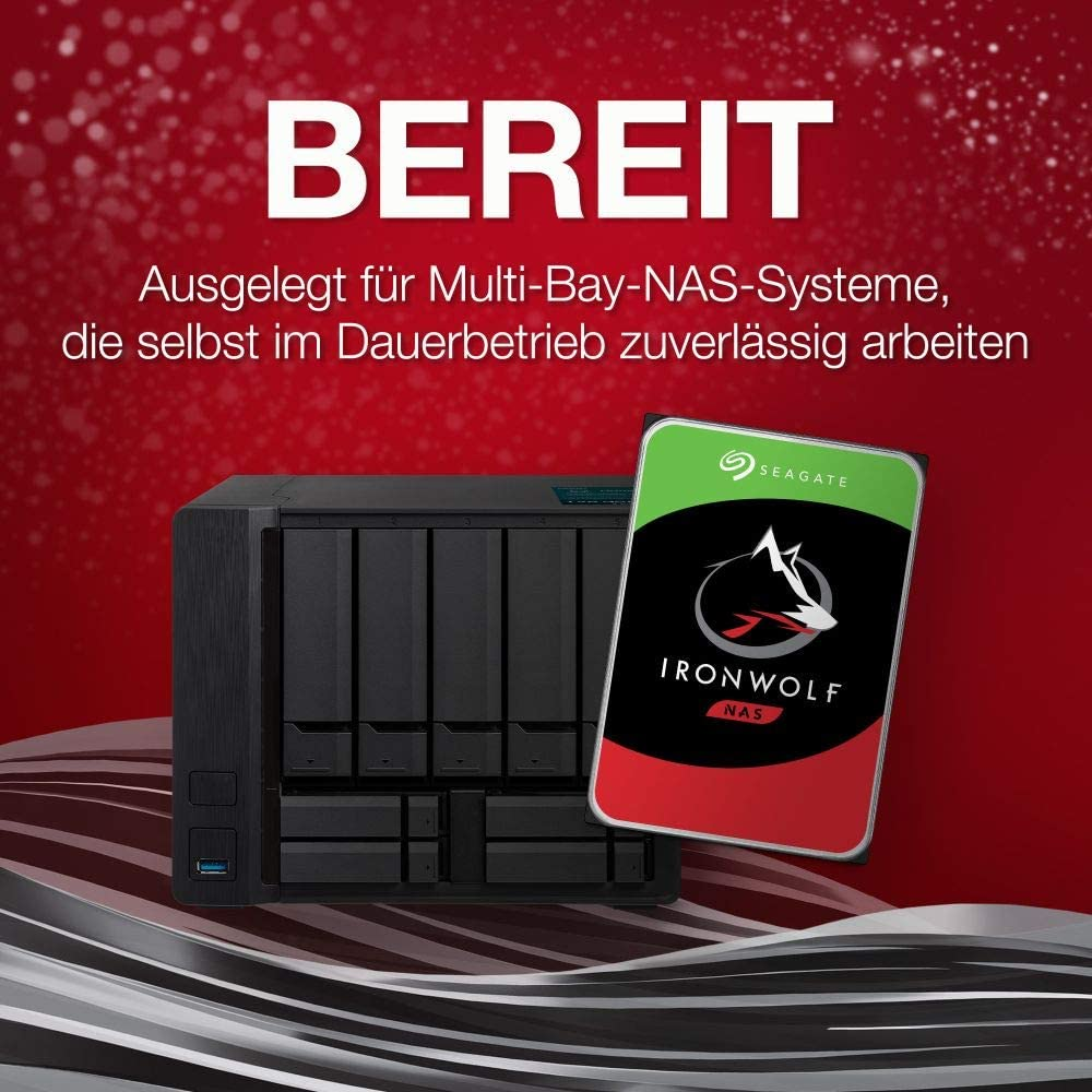 Seagate Ironwolf 10 Tb Hdd Nas Internal Hard Drive Computers Accessories