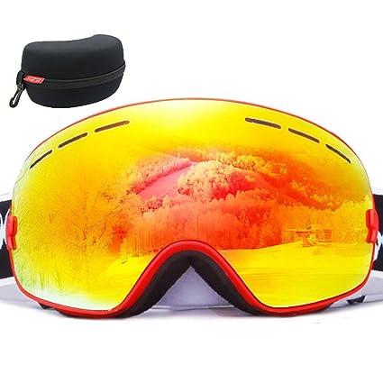 9f4e5570cff Amazon.com  Aolvo Snowboard Goggles
