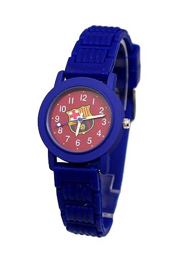 Reloj niño fútbol FC Barcelona Barca Messi Suárez Neymar: Amazon.es: Relojes