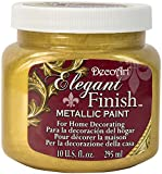 DecoArt Elegant Finish Metallic Paint 10oz-Splendid Gold