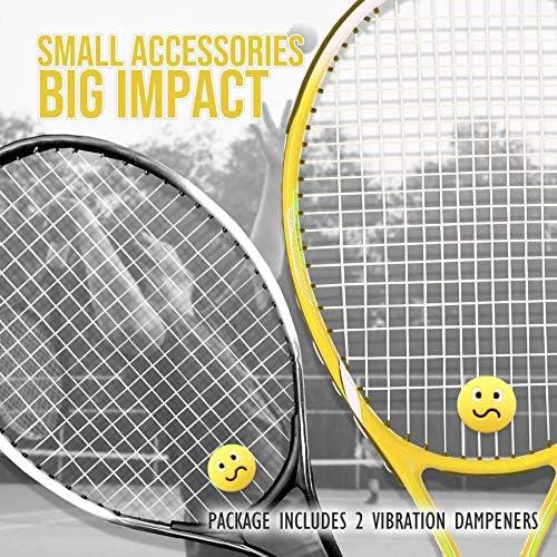 Pro/'s Pro Panda Tennis Racquet Racket String Dampener Shock Absorber 3 Pack