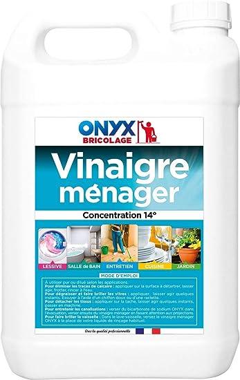 Onyx - Vinagre para limpieza, 5 l: Amazon.es: Bricolaje y herramientas