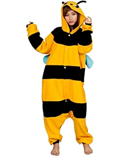 FashionFits Unisex Adult Cosplay Halloween Animal Pajama Costume Jumpsuit