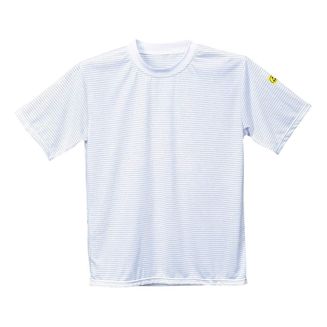 ESD T-Shirt L hellblau PORTWEST AS20HBRL Antistatik