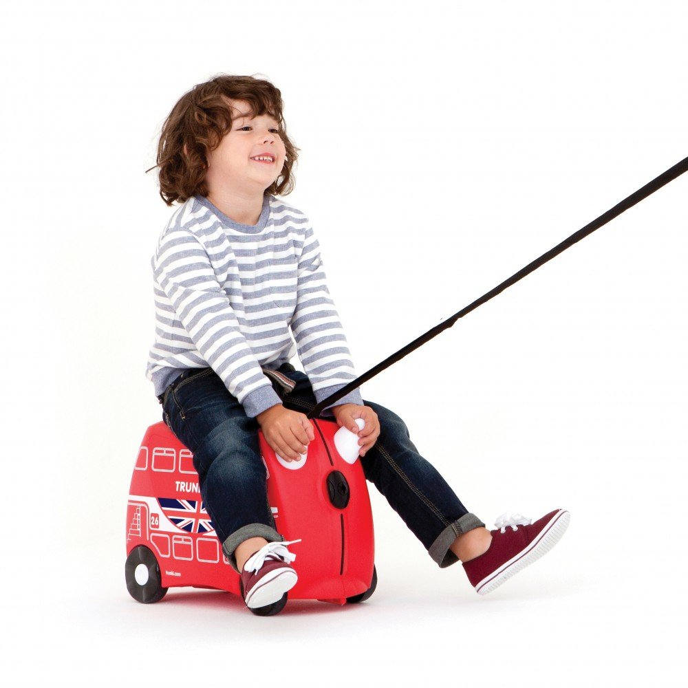 Trunki: The Original Ride-On Suitcase NEW, Boris The London Bus (Red) by Trunki (Image #4)