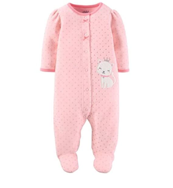 376ba1090 Amazon.com  Child of Mine Carter s 0-3 Month Baby Girl Microfleece ...