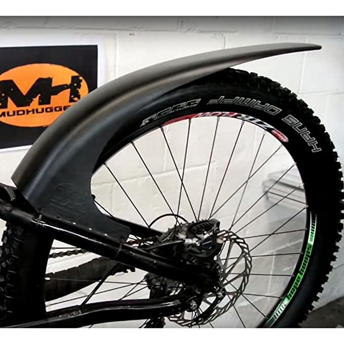 Mudhugger- Guardabarros para bicicleta de montaña, negro 27,5-29 ...