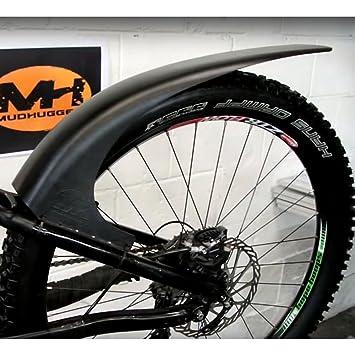 Mudhugger- Guardabarros para bicicleta de montaña, negro 27,5-29 pulgadas: Amazon.es: Deportes y aire libre
