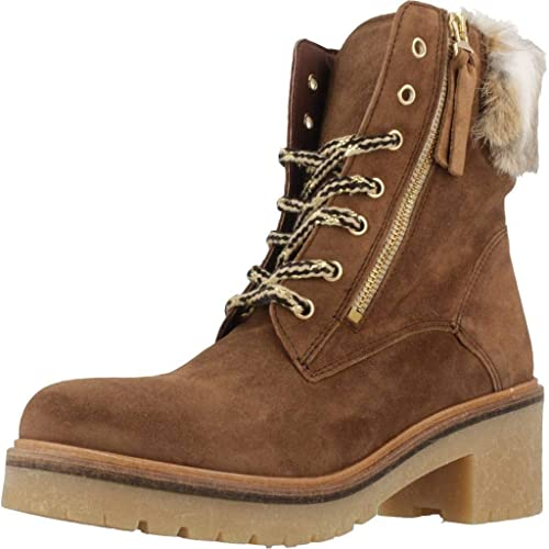 f5e17e0a2b0 Botin Alpe De Piel Camel 37701102  Amazon.es  Zapatos y complementos
