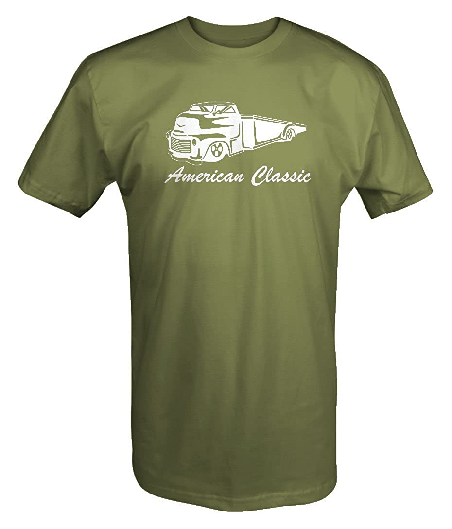 American Classic Flatbed Tow Truck Chevy Ford Dodge Diesel T Shirt T-J106