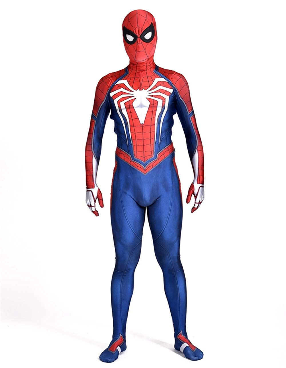 Spider Superhero Ps4 Game 2018 Halloween Cosplay Costumes Adult 3D Style New Edition